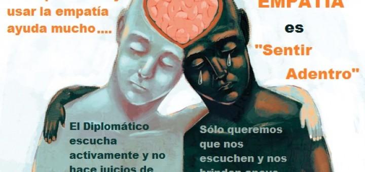 Ser diplomático la empatía